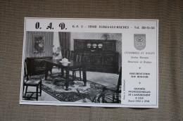 PUB 1974 Meubles OAD FLINES LES RACHES Nord 59 - Advertising