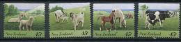 (cl 9 - P17) Nelle Zélande ** Tbres De Série N° 1395 à 1404  (ref. Michel Au Dos) - (moutons, Chèvres, Chevaux, Vaches) - Neuseeland