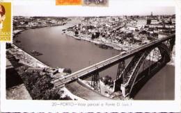 PORTO - Vista Parcial E Ponte D. Luis I - Porto