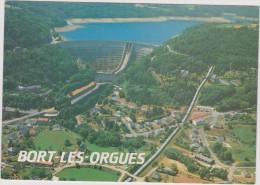 Corrèze : BORT  Les   ORGUES  : Vue - France