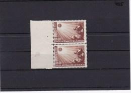 Dt. Besetzung Serbien, MiNr. 58, ** Postfrisch, Senkr. Paar Mit Plattennummer III - Ocupación 1938 – 45