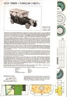 Découpage Maquette - Auto 1907 TURICUM - Cut-out Paper Model - Modellbogen Zurich - Ohne Zuordnung
