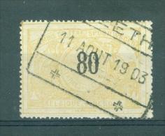 "BELGIE - OBP Nr TR 24 - Cachet  ""REETH"" - (ref. VL-5497) - 1895-1913"