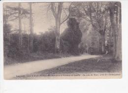 LANNION  (Côtes D´Armor-22), Crec´b Avel, Maison Des Retraites Et Pension De Famille, Parc, Allée Des Châtaigniers, 1913 - Lannion