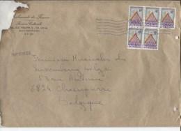 Lettre Accidentée  Du Gd Duché De Luxembourg C.Luxembourg En 1987 V.Chasse Pierre Excuses De La Poste Belge AP837 - Lettres & Documents