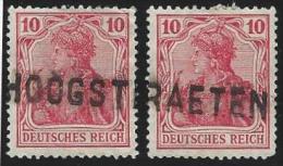 Deutsches  Reich        Michel    72  2x                      O            Gebraucht - Deutschland