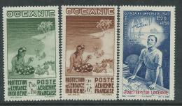 Océanie PA N° 4 / 6  XX P.E.I.Q.I., Les 3 Valeurs   Sans Charnière, TB - Oceania (1892-1958)