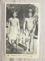 Filipijnen Philippijnsche Eilanden Lubuagan De Eerste Schepene Met Zijn Papa - Filippine