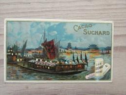 Cacao Suchard Chromo Litho Azie Ship Serie 129 - Suchard