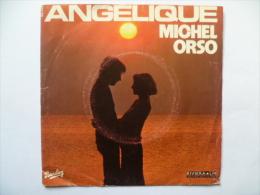 MICHEL ORSO:Angelique/Ces Enfants Là. - 45 T - Maxi-Single
