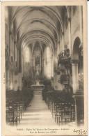 CPA Du Temps Jadis De Paris (XII ème Arrts)– Eglise De L'immaculé-Conception – Intérieur – Rue Du Rendez-vous - Churches