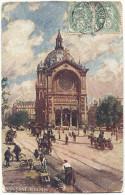 CPA Du Temps Jadis De Paris (VIII ème Arrts)  – Eglise Saint Augustin - Eglises