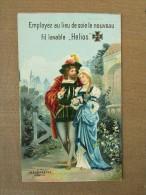 Kalender Calendrier Fil Lavable Helios Wilh Hebebrand Elberfeld Berlin Bruxelles - Calendars