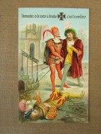 Kalender Calendrier 1886 Mephisto Coton à Broder Wilh Hebebrand Elberfeld Berlin Bruxelles Margarethe - Calendars