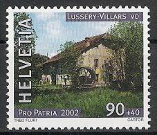 Suisse Schweiz Svizerra Switzerland Pro Patria 2002 Zumstein** No 279 - Ongebruikt