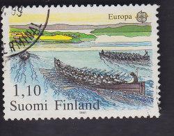 Finlande: Europa. Course De Bateaux à Rames. 845 - Used Stamps