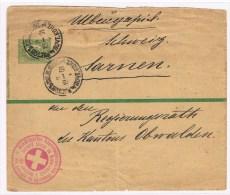 (L5) BJ=S.4A. 2k Rostoc S/ Don 7.5.1901 Croix-rouge =Soc- Suisse De Bienfaisance à Rostov S/Don - 1857-1916 Imperium