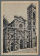 U452 FIRENZE DUOMO E CAMPANILE (tur) - Firenze