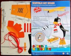 Marionnette De Pingouin - à Monter Sois-même Sous Forme De Découpage Prédécoupé ! - Marionnettes