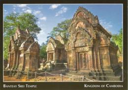 CAMBODGE. Monument Temple Banteay Srei, Citadelle Des Femmes, Carte Postale Neuve - Asien