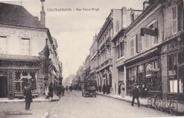 36-CHATEAUROUX-RUE VICTOR-HUGO-Bien Animée, Commerce, Vélos. - Chateauroux