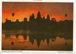 CAMBODGE. Monument Temple Angkor Wat, Au Lever Du Soleil, Carte Postale Neuve - Monuments