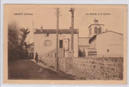 GRIGNY - La Mairie Et Le Clocher - Grigny