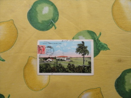 Republica De CUBA 1920 Country Club Havana , Cuba A Colori Affrancata Viaggiata - Cartoline