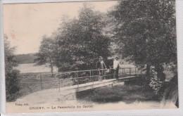 GRIGNY - La Passerelle Du Garon - Grigny