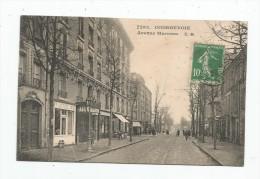 Cp , 92 , COURBEVOIE , Avenue MARCEAU , Voyagée , Ed : Testard , N° 7293 - Courbevoie