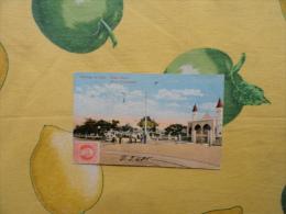Republica De CUBA 1919 Santiago De Cuba Paseo Marti Marti Promenade Animata  A Colori Affrancata Viaggiata - Cartoline