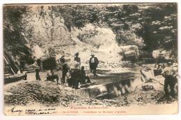 09 SAINT GIRONS CARRIERES DE MARBRE D'AUBER 1905 - Saint Girons