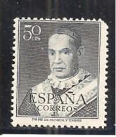 España/Spain-(MH/*) - Edifil  1024 - Yvert  823 (esquina Corta) - 1931-Hoy: 2ª República - ... Juan Carlos I