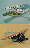 National Aviation Museum Model Collection, Martinsyde Type A MK II (1920) & Silorsky S-38 (1928), Canada, 40-60s - 1919-1938: Entre Guerres