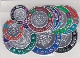 Tonga 1967 Coinage Coronation Mint X 12 Values DB616 - Tonga (1970-...)