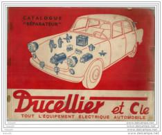 DUCELLIER  et  CIE ,,,,TOUT l �  EQUIPEMENT   ELECTRIQUE  AUTOMOBILE,,,,,CATALOGUE  REPARATEUR