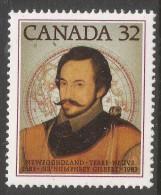 Canada. 1983 400th Anniv Of Newfoundland. 32c MH. SG 1102 - 1952-.... Reign Of Elizabeth II