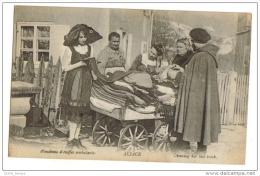 Alsace Vendeuse D'Etoffes Ambulante - Craft