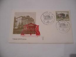 FDC ITALIA REPUBBLICA   1980 VILLE D´ITALIA - 1981-90: Storia Postale