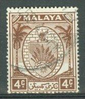 MALAYA - NEGRI SEMBILAN 1949-55: ISC 46 / YT 44 / Sc 41 / SG 45 / Mi 44, O - FREE SHIPPING ABOVE 10 EURO - Negri Sembilan