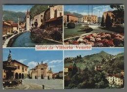 U1170 SALUTI DA VITTORIO VENETO Treviso VG SB (tur) - Treviso