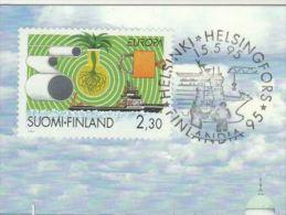 1995 FINLAND SHIP  Stamps EVENT  Finlandia Philatelic Exhibition CARD  Cover - Ships