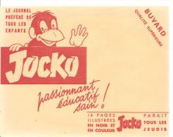 Buvard JOCKO Le Journal Préféré De Tous Les Enfants. Passionnant, éducatif, Sain! - Papeterie