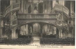 CPA Du Temps Jadis De Paris (V ème Arrts) – Eglise Saint Etienne Du Mont – Le Jubé Et La Châsse De Sainte Geneviève - Eglises