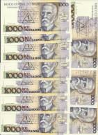 BRESIL 1 CRUZADO NOVO  ND1989 UNC P 216 B (10 Billets) - Brazil