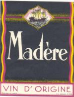 Etiquette Ancienne : Madère - Etiquettes