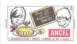 Buvard ANCEL Pour Lui Et Elle Toujours ANCEL! - Lattiero-caseario
