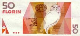 ARUBA 50 FLORIN 1990 PICK 9 UNC - Aruba (1986-...)