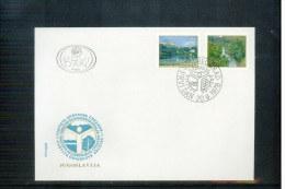 Jugoslawien / Yugoslavia 1978  Naturschutz / Nature Protection FDC - Umweltschutz Und Klima