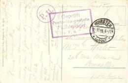 Camp De Munsterlager Pour Bruxelles - Guerre 14-18